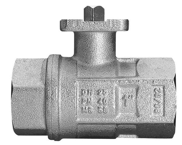 Direct Mount Brass Ball Valves - With ISO Pad