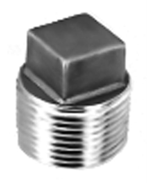 SS190 Square Head Plug Stainless Steel Pipe Fitting