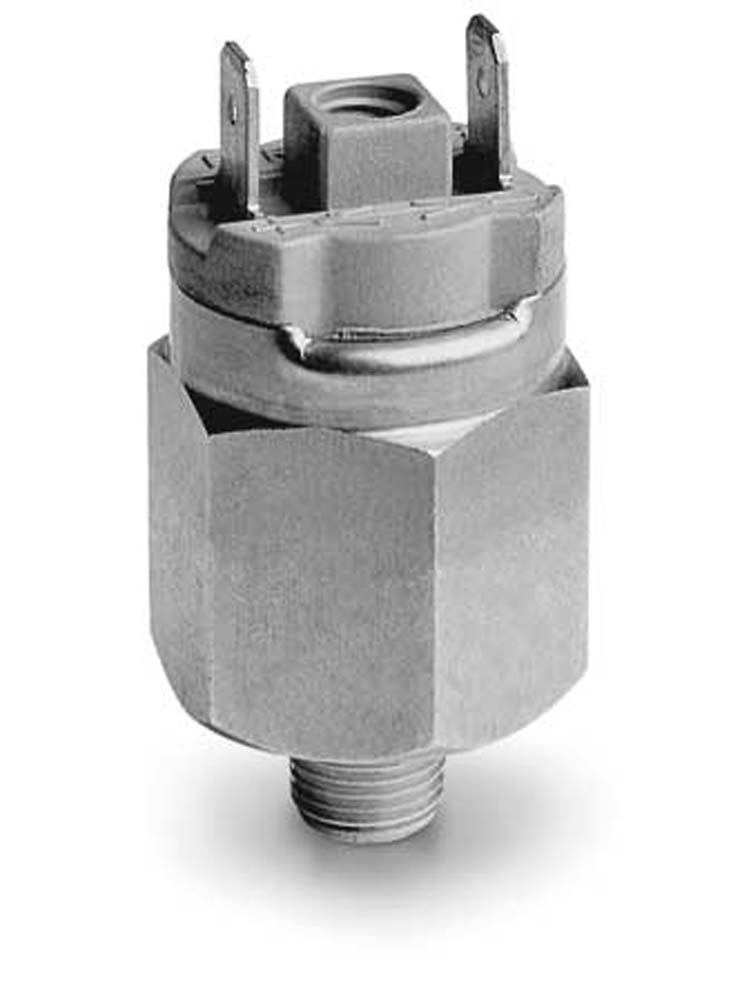 Series PM Adjustable Diaphram Pressure Switches - Camozzi