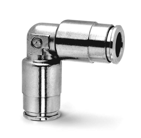 8550 Equal Tube Elbow Dual Seal Fitting