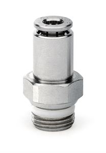 S6510 Male Stud With Self-Retaining Device Push In Fitting