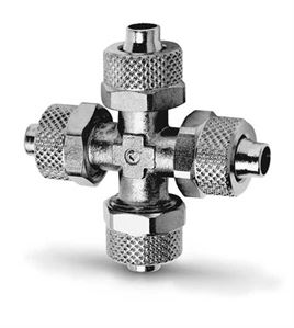 1600 Equal Tube Cross Push On Fittings