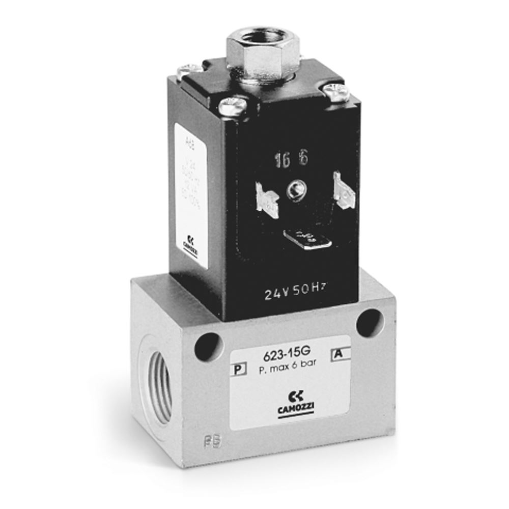 Series 6 Directly Operated Solenoid Valves  - Camozzi Automation Ltd