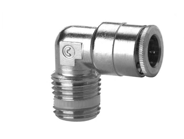 S6500 Fixed Male Elbow-Taper Push In Fitting