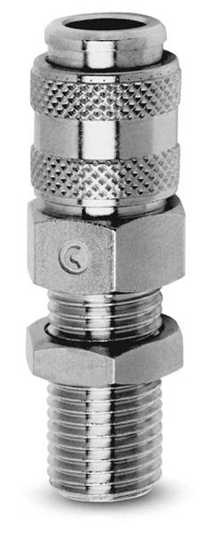 5052/5082 Socket-Bulkhead Fixing-Parallel Quick Release Coupling