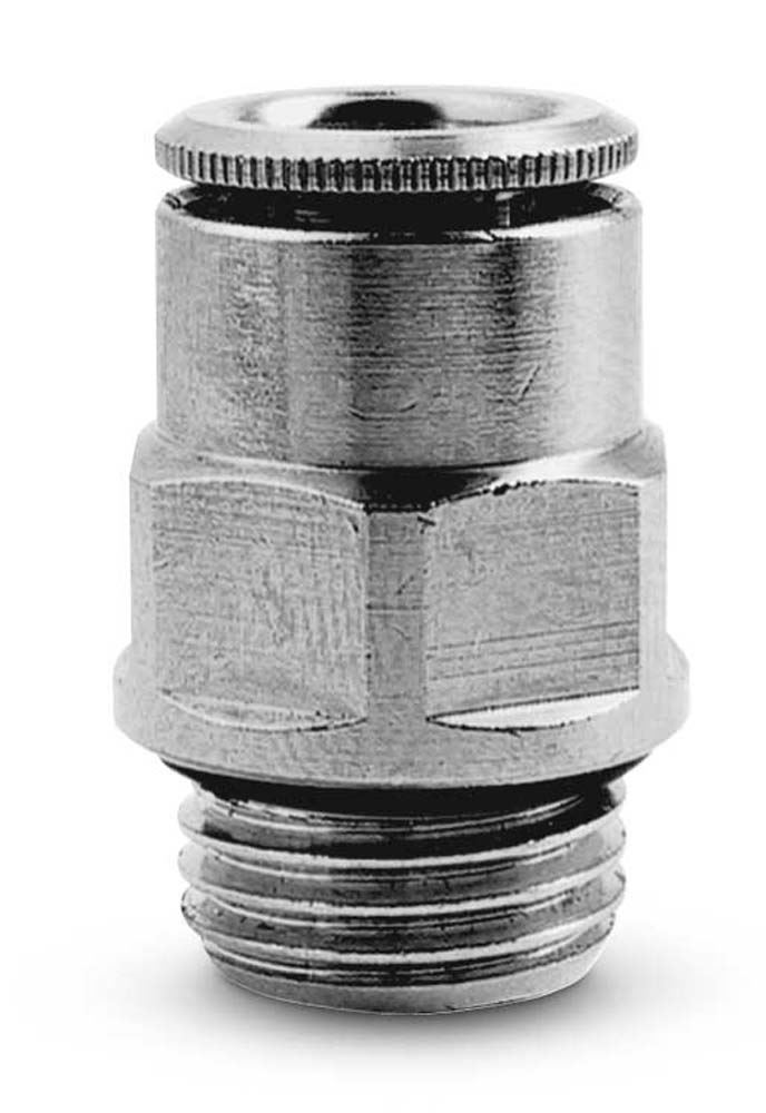 Push in fitting-swivel elbow-12mm tube-1//4 thread CAMOZZI S6520 12-1//4