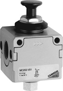 Series MC Lockable Isolation 3-Way Valve