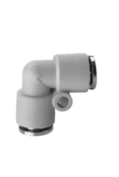 7550 Equal Tube Elbow Plastic Push In Fitting