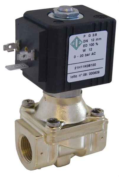 Coupled Diaphragm Industrial Solenoid Valves 2/2 NC