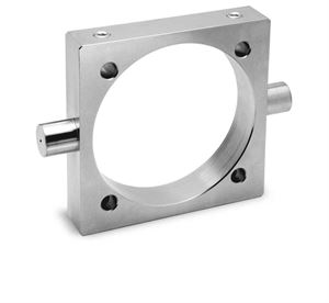 Centre Trunnion Mod. F for Series 40 Cylinder  For Industrial Automation. Pneumatic Cylinder Mounting Accessory.
